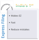 Express Filing from EZTax India