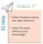 Intuitive Help from EZTax India