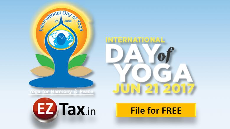 International Yoga Day @ EZTax India