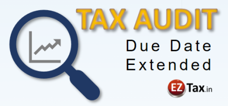 Tax Audit Due Date Extended