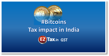 Bitcoins Tax impact in India | EZTax.in